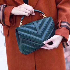 Hot nouveau haute qualité nouveau sac à main Femmes sacs sac à bandoulière dame Sac à bandoulière simple sac à cosmétiques en cuir sacs à main caméra sacs rayés