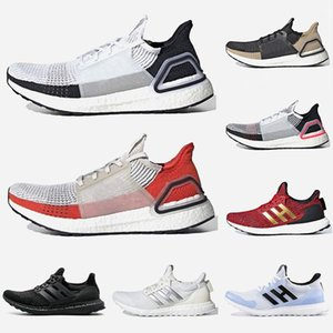 2020 Ultra Boost 19 Scarpe Tenis Primeknit di alta qualità Uomini Donne formatori UltraBoost 4.0 viene eseguito Bianco Nero Sport Sneakers Taglia 36-47