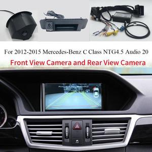 Frente coche y adaptador de interfaz de marcha atrás Cámara de visión trasera para 2012-2020 Clase C W204 Audio 20 con el sistema NTG4.5