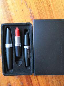 2018 New M brand Maquillaje Kollection Maquillaje set Matte Liquid Eyeliner Mascara Pintalabios sets 3 en 1 kit de labios Kit de cosméticos