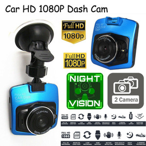 Reino Unido lente dual HD 1080P 2.4 '' cámara del vehículo inteligente automático del registrador del coche DVR de la leva de la rociada