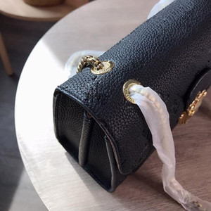 디자이너-봉투 빅토리아 디자이너 명품 핸드백 지갑 체인 스트랩 어깨 크로스 바디 L 꽃 지갑 스트랩 여성 가방 체인 양각