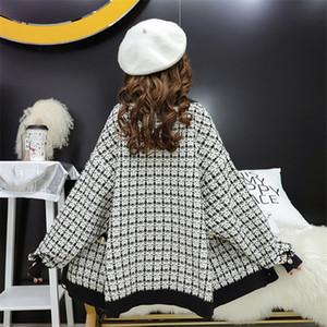 2019 maglione cardigan maglione spesso autunno femminile nuovo maglione casual stile coreano allentato stile college casual