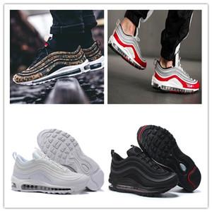 NIKE Air max 97 2019 Дизайнерская обувь 7 Хорошего дня Кроссовки SE GS Металлик Золото Серебро Пуля Вкладка Мужчины Женская обувь Кроссовки 5-11 T6