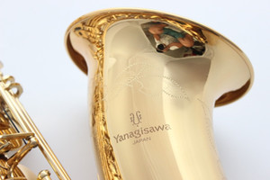 High-quality professional New Brand YANAGISAWA T-992 Tenor Bb Tenor saxophone playing Electrophoresis Gold Tenor sax With Mouthpiece