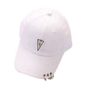 Moda-Çift Harf Beyzbol şapkası Kadın Erkek Unisex Snapback Hip Hop Düz Hat czapka z daszkiem