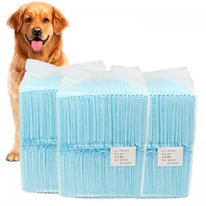 1 Bag multi-formato Gatto Cane Pannolini assorbente urina Pad monouso Diaper Pet Dog Mat Nappy Pet Pee carta di pulizia antibatterico