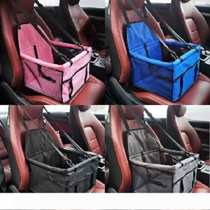 B Pet Supplies Car Carriers Dog Car Seat Covers front seat pad safety box breathable waterproof car seat covers multi-colors options DH