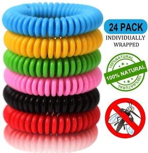 Mosquito Repellent Bracelets, Natural and Waterproof Wrist Bands for Adults, Kids, Pets