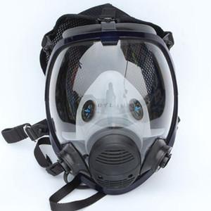 Gesichtsstück Respirator Kit Vollgesichtsgasmaske für die Malerei Spray Pesticide Brandschutz