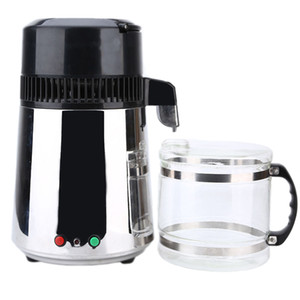 Hot Selling 4L Water Distiller 304 Stainless Steel Double Button Home Use Medical Laboratory Distilling Machine