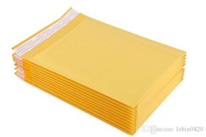 20 Pcs High Qulity Padeded Durges Mailers Shiping Yellow Bags Universal Kraft Bubble Saading Material