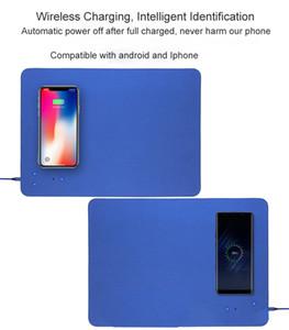 2019 горячий Qi Wireless Fast Charger Mouse Pad / Мат для iPhone 8 8 Plus для iPhone X для Samsung Galaxy S8 / 7