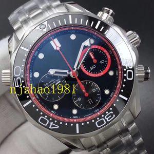 Miglior Watch Watches sPRT acciaio Stee Uomo Uomini qualità Weistwatches alta Maestro Co-Axial quarzo giapponese