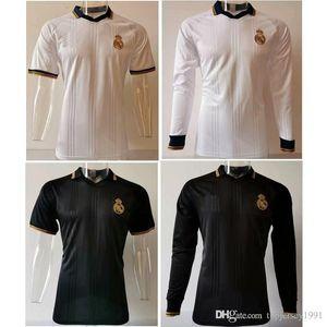 Thai 19 20 real madrid POLO DANGER kit football 2019 2020 véritable maillot de formation des maillots de football madrid kroos ASENSIO