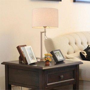 İskandinav minimalist modern masa lambası moda yaratıcı oturma odası çalışma ve yatak odası okuma masası demir Amerikan masa lambası LR003
