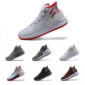 Erkek Yüksek kaliteli Super renkli Chaussures Spor Spor ayakkabılar Eğitmenler 7-12 için 2019 Yeni Geliş Derrick Rose 9 IX Spor Basketbol Ayakkabıları