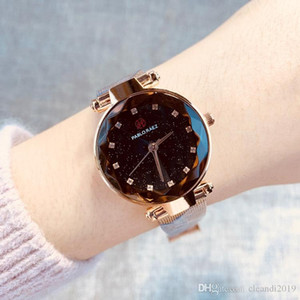 High quality 2019 Fashion Luxury Women Watch With Diamond Special Design Relojes De Marca Mujer Lady Dress Wristwatch Quartz Clock Rose gold