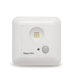 Geagood 1W Infrarot-Sensor-Licht Einstellbare Menschlicher Körper Induktion führte Deckenleuchte Voice Activated Light Control-Deckenleuchte