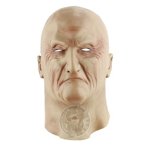 Halloween Festival und Party Dekorative Masken Gangland Boss Emulsion Horrible Head Mask praktischer Witz Lustige Vollkopfmasken
