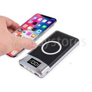 E Charging Wireless 2020 New Powerbank 10000 Mah Battery Portable Mobile Wireless Charger Qi Wireless Power Bank 10000mah 20000mah