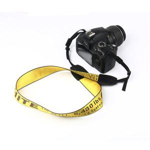 Fotografia câmera ombro alça única pendurado corda de couro multicolor branco chaveiro banhado a fivela decorativa frete grátis