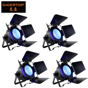 쉐이드 / COB LED PAR 200W RGBW PAR / 디스코 빛 DMX512 제어 LED 광 세척 단계 전문 DJ 장비 새로운 100 %