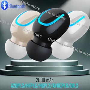 HQB Q32 TWS Bluetooth 5.0 이어폰 무선 헤드폰 핸즈프리 헤드폰 스포츠 이어 버드 게임 헤드셋 by DHL