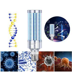 Ultravioleta germicida luz E27 60W AC 110-280V UVC Esterilizador germicidas Led milho lâmpada de esterilização Ácaros Controlo Remoto