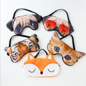 3D Cartoon Schlafaugenmaske Rest Gepolsterte Schatten Abdeckung Reise Entspannen Augenbinden Augenabdeckung Schlafmaske Augenpflege Beauty Tools
