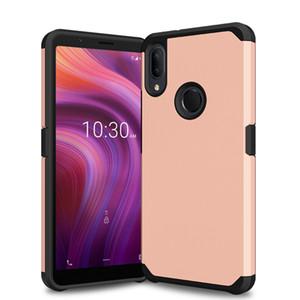 Pour Motorola Moto E6 G7 Power Plus Z Jouer Z2 force Z FORCE couverture G5 plus hybride double Armure Phone Cases