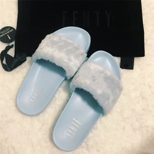 WITH BOX T87 Latest PVC Leather Jelly Slides Slippers Fashion Women Women Sandals Slippers Huaraches Flip Flops Fashion Casual#899