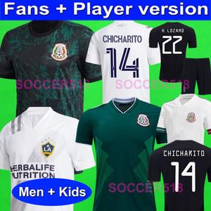 CHICHARITO плеера версия Мексика 2020 трикотажных изделий футбола LA Galaxy Inter Майами BECKHAM рубашка футбол LAFC Los Angeles FC VELA 2019 Дети комплектов