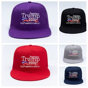 fashion Trump hat new 2020 Make America Great Again Donald Trump Baseball Caps hip-hop hat custom embroidery Ball Caps T2C5217