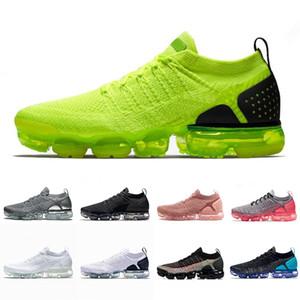 2019 Knit 2.0 per uomo Scarpe da corsa da donna Triple White Black Heritage Cushion Scarpe da ginnastica da uomo Designer Sneakers sportive Taglia 36-45