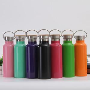 17 Unzen Wasserflasche vakuumisolierte Edelstahl-Reise-Becher Eiskaltes Doppelschalig Flask mit starken Cap