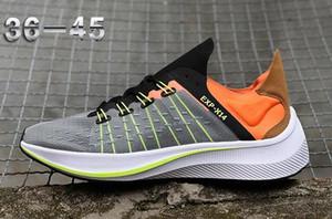 2019 Ligera Deportes EXP-X14 WMNS mosca SP para hombre Ampliar los zapatos corrientes de impulsión de las mujeres mejora los calzados informales de lujo translúcido superior zapatillas de deporte