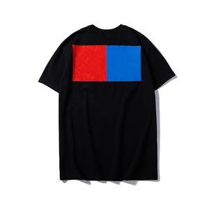 Hommes Styliste T-shirt de haute qualité Loose Fit Hommes Femmes Hip Hop manches courtes Mode Noir Blanc Hommes T-shirts col rond