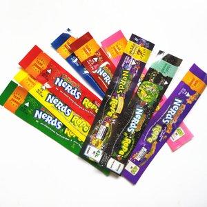 Nerds CORDE sac de bonbons exotiques Nerds corde vide bas Packaging Nerds corde sacs bonbons Nerdsrope Gummy