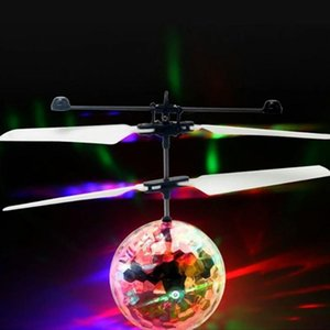 1Pc Light Up Toy Colorful Luminous Toys Induction Flying Toy Flash Light Flying Ball For Children Kids Gifts Toys For Children KfhqA