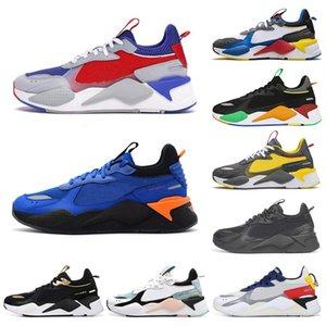 PUMA RS-X Toys Yeni RS-X Erkek Koşu Ayakkabıları Rehabilitasyon Serin Siyah beyaz Moda Creepers baba Chaussures Erkek Kadın Koşucu Eğitmen spor Sneakers boyutu 36-45