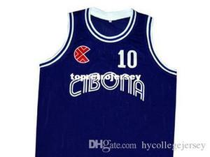 Cheap Mens CUSTOM #10 JERSEY PETROVIC NEW YUGOSLAVIA ANY NAME, #, XS - 5XL Retro Basketball Jerseys