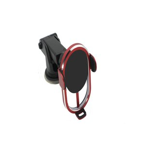 Wholesale Customized Logo Aluminum Alloy tempered glass Touch Sensor Automatic Clamping Aligning 10 W fast Qi Wireless Car Charger Mount