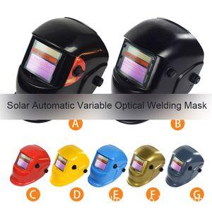 ALKTech 1pc Capacete Solar Automatic Welding Máscara escurecimento automático de soldagem Blindagem MIG TIG Arc Welding Protection Tool Blindagem
