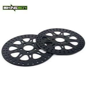 """BIKINGBOY 11.5"""" Front Brake Discs Disks Rotors For Dyna 1450 FXDL Low Rider FXDX Super Glide Touring 1450 FLTR FLHR"""