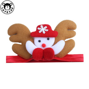 Hair Children Decorate Christmas Elastic Force Baby Headwear Toddler Headbands Kids Head Hoop Toddler Hair Clip