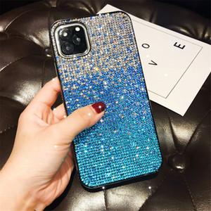 designer phone case For iphone 11 pro max case xr x xs max 7 8 plus Diamond Glitter Gradient protective cover coque iphone 11