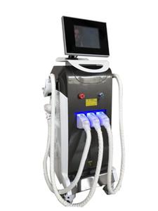 En sıcak satış, ağrısız profesyonel epilasyon e-ışık ipl + rf + nd yag lazer İşlevli güzellik makinesi