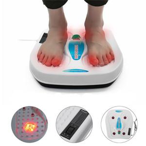 220V elétrica Vibrador Relxation Pé Massager Infrared Acupuntura Terapia de calor relaxante Fadiga Amassar Saúde Massager