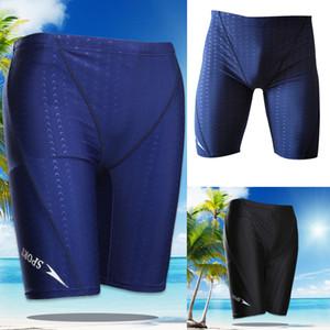 Pantalones Boxer Briefs shorts de baño traje de baño de la playa de los nuevos hombres interior de las bragas